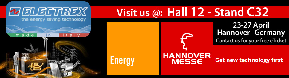 Electrex: Visit us at HANNOVER MESSE 2018 exhibition in HANNOVER - Germany