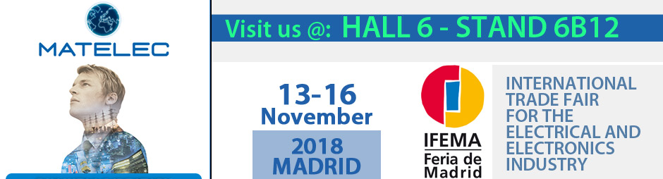 Visit us at SPS IPC DRIVES 2018 exhibition in PARMA - Italy