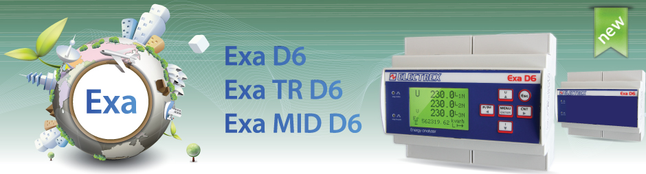 Exa - Energy Analyzers (also MID versions)