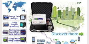 X3M H BOX NET WEB ENERGY DATA MANAGER Electrex's portable solution for temporary energy monitoring.