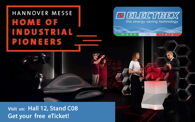 Electrex: Visit us at HANNOVER MESSE 2019 exhibition in HANNOVER - Germany