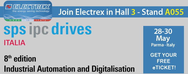 Visit us at SPS IPC Drives 2019 exhibition in PARMA - Italy