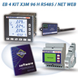 PFA5C13-92  EB 4 KIT X3M 96 H RS485 / NET 2DI 2DO WEB