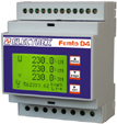 PFA6471-12  FEMTO D4 DC RS485 230-240V 1DI 2DO ENERGY ANALYZER