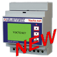 PFA94D3-98  YOCTO NET WEB LOG 8 MAIL CALENDAR D4 9÷36V 2DI 2DO NET. BR.