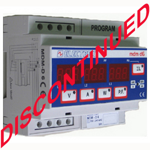 PFE845-00  MDM D6 MULTI DATA METER