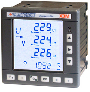 PFE411-00 X3M 96 85÷265V ENERGY DATA MANAGER