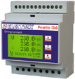 PFA6471-18 FEMTO D4 DC RS485 18÷60VDC 1DI 2DO ENERGY ANALYZER