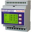 PFA6411-02  FEMTO D4 RS485 230-240V ENERGY ANALYZER