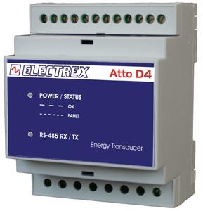 PFA7411-02  ATTO D4 RS485 230-240V TRANSDUCER/ENERGY ANALYZER