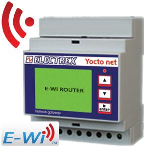 PFA94DA-17 YOCTO NET WEB ROUTER D4 E-WI EDA 15÷36V 2DI 2DO