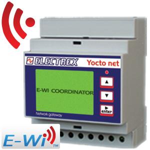 PFA94DH-99 YOCTO NET COORDINATOR WEB LOG 8 MAIL CALENDAR CHARTS D4 E-WI HI 15÷36V 2DI 2DO