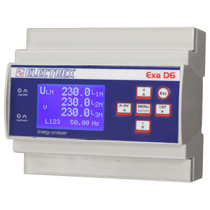 PFAE611-62-B EXA D6 RS485 230-240V 2AO4-20mA ENERGY ANALYZER