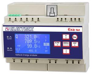 PFNE6-11509-A10  EXA NET D6 WEB LOG 8 CHARTS 85÷265V ENERGY ANALYZER & WEB DATA MANAGER
