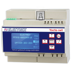 PFNY6-005Q9-F10  YOCTO NET D6 WEB LOG 8 FULL 85÷265V 2DI 2DO WEB DATA MANAGER