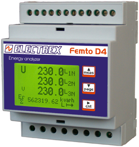 FEMTO D4 ENERGY ANALYZER
