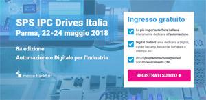 Invito a SPS IPC DRIVE 2018